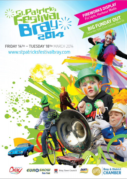 Amazing things are happening this St. Patrick's Weekend in Bray!