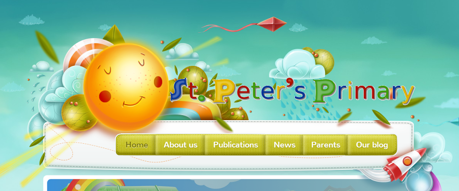 A snapshot of our new website!
