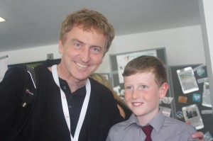 Archie and Sean O'Sullivan from The Dragons Den!
