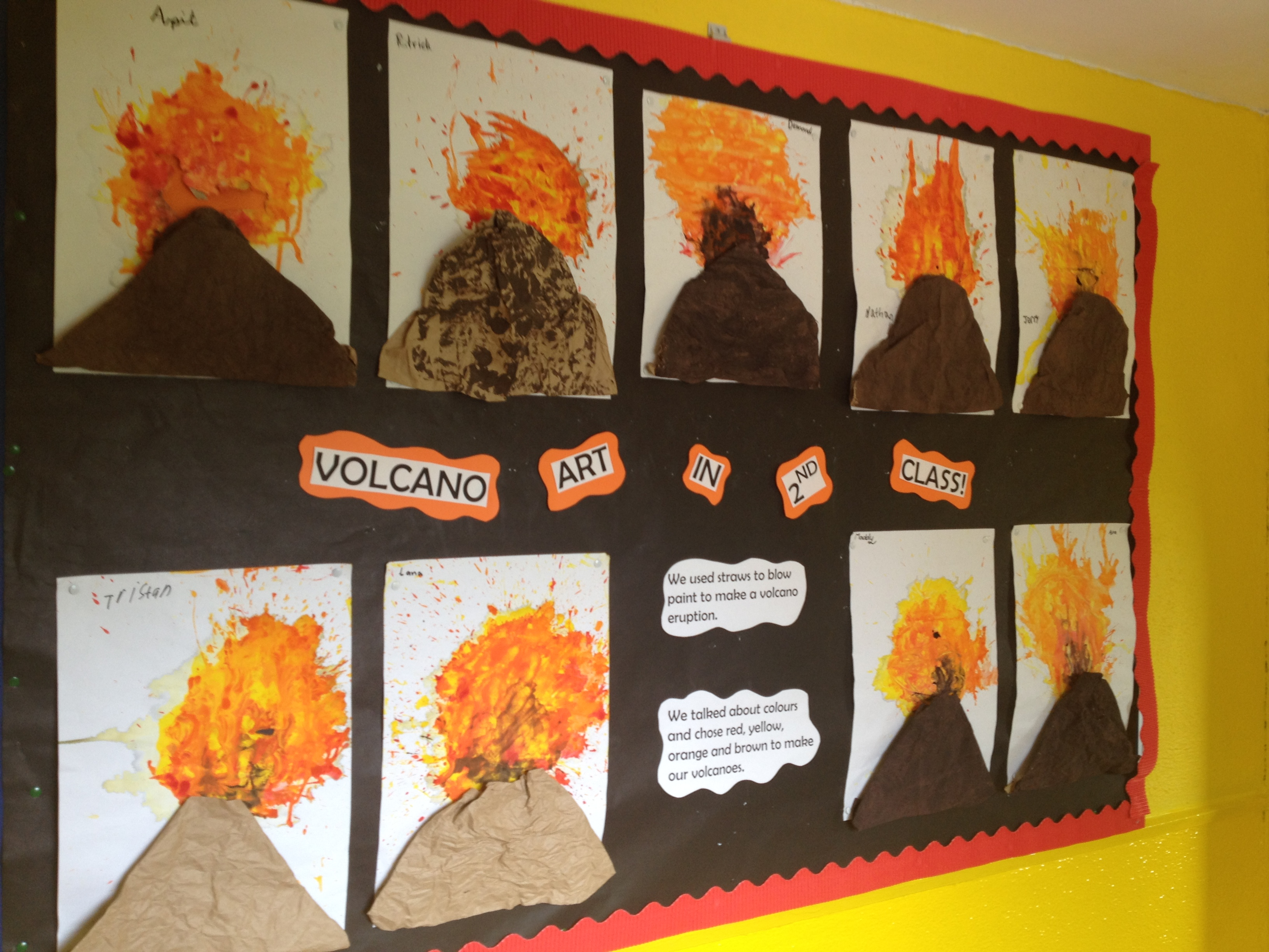 Primary homework help volcanoes