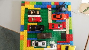 lego car park