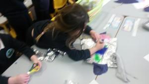 Chloe designing